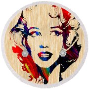 Marilyn Monroe Collection Round Beach Towel