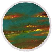 2nd In A Triptych Round Beach Towel