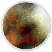 Abstract Photography Round Beach Towel by Allen Beilschmidt