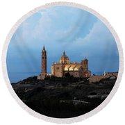 Basilica Ta Pinu - Gozo Round Beach Towel