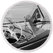 Chris Craft Deluxe Round Beach Towel