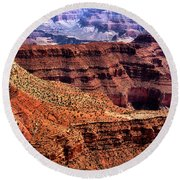 Dragon Corridor Grand Canyon Round Beach Towel
