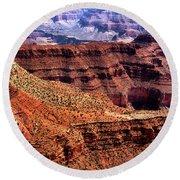 Dragon Corridor Grand Canyon Round Beach Towel by Thomas R Fletcher