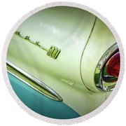 Fairlane Round Beach Towel by Jerry Golab