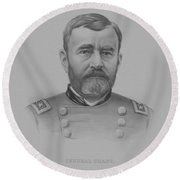 General Grant - Two Round Beach Towel