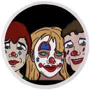 3 Jesters Round Beach Towel