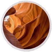Lower Antelope Canyon Navajo Tribal Park #4 Round Beach Towel