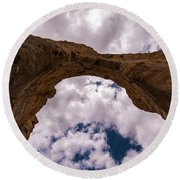 Monument Rocks Round Beach Towel
