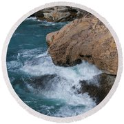 Point Lobos Round Beach Towel
