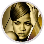 Rhianna Collection Round Beach Towel