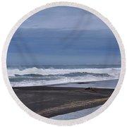 The Lost Coast Round Beach Towel