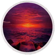 The Path Round Beach Towel