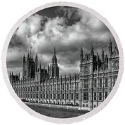 Westminster Palace Round Beach Towel