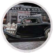 34 Ford Round Beach Towel
