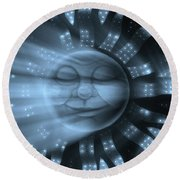 35 Shine On You Crazy Diamond Part1 - Remember Round Beach Towel