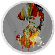 Jay Z Collection Round Beach Towel