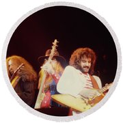 38 Special - Cow Palace Sf 3-15-80 Round Beach Towel