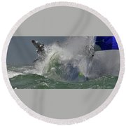 Awash Round Beach Towel