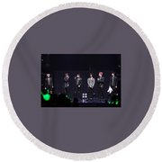 B.a.p Round Beach Towel