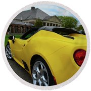 4 C Spider Round Beach Towel