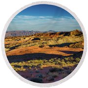 I Could Hear For Miles. Round Beach Towel