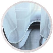 Net Curtain Round Beach Towel