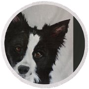 Oliver Round Beach Towel