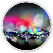 Sparks Round Beach Towel
