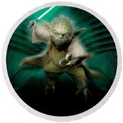 Star Wars Episode IIi - Revenge Of The Sith 2005 Round Beach Towel