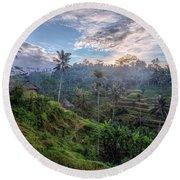 Tegalalang - Bali Round Beach Towel