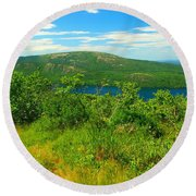 White Mountain's  Round Beach Towel