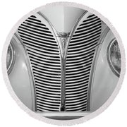 40 Ford Round Beach Towel
