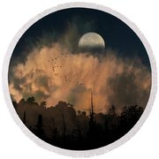 4234 Round Beach Towel by Peter Holme III