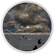 4367 Round Beach Towel by Peter Holme III