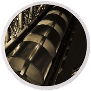 Lloyd's Building London  Round Beach Towel
