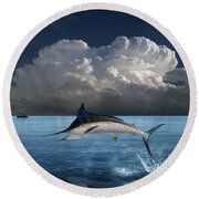 4439 Round Beach Towel by Peter Holme III