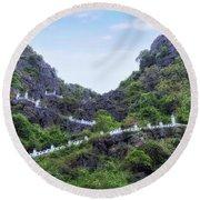 Ninh Binh - Vietnam Round Beach Towel