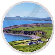 Ring Of Kerry - Ireland Round Beach Towel