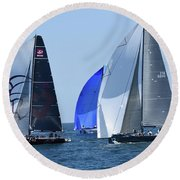 Rolex Capri Sailing Week 2014 Round Beach Towel