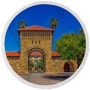 Stanford University Round Beach Towel