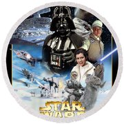 Star Wars Episode V - The Empire Strikes Back 1980 Round Beach Towel