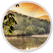 Stonewall Resort Sunrise Round Beach Towel