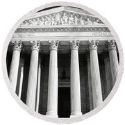 Supreme Court Of The United States Of America Round Beach Towel
