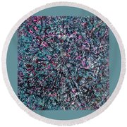 53-offspring While I Was On The Path To Perfection 53 Round Beach Towel