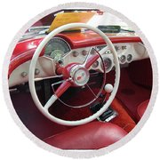 54 Vette Round Beach Towel
