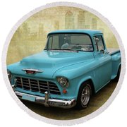 55 Stepside Round Beach Towel