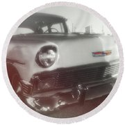 56 Belair In Memphis Round Beach Towel by JAMART Photography