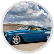 '57 Chevy Custom Round Beach Towel