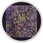57-offspring While I Was On The Path To Perfection 57 Round Beach Towel