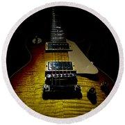 59 Reissue Guitar Spotlight Series Round Beach Towel